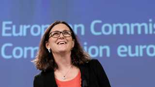 If US raises car tariffs, EU must react - Malmstrom