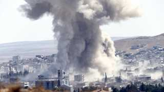 US-led coalition strike kills over 60 civilians in Syria
