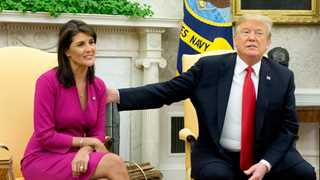 Trump would prefer woman to replace Haley