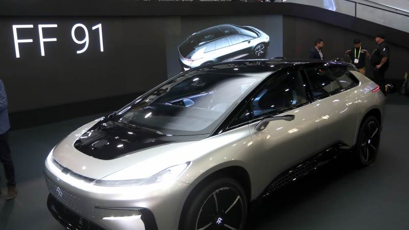 Faraday Future Co Founder Resigns
