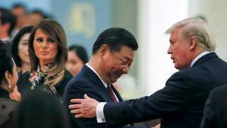 Trump: Good talks with Xi on trade, North Korea