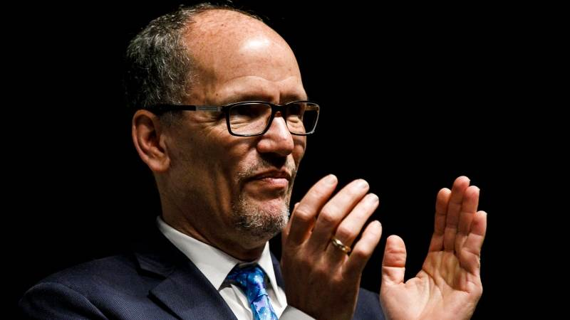 DNC chair confident Dems can beat Trump in 2020