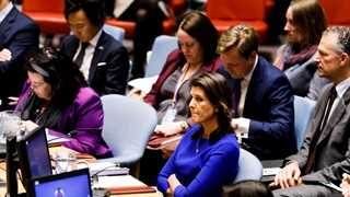 Haley: Not lifting N.Korea sanctions just yet