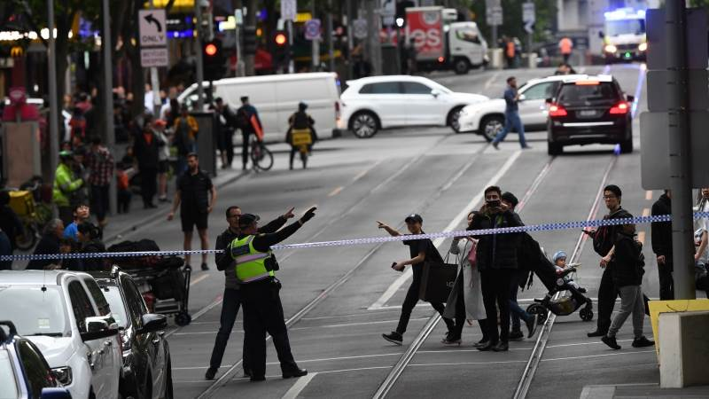 Melbourne knife attack treated as terrorism - police