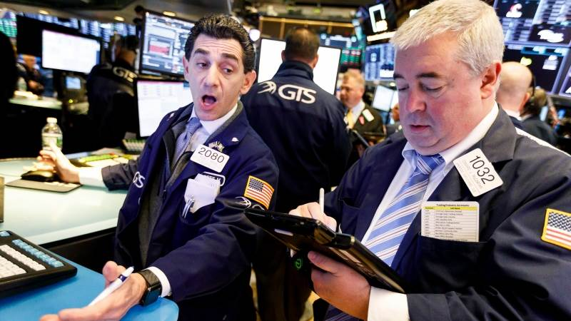 Dow falls over 200 points, Nasdaq 100 down over 1.5%