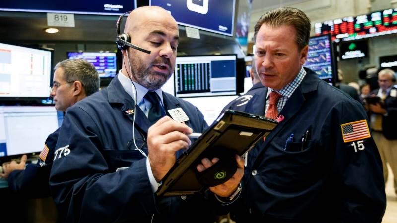 Wall Street ends lower amid economic slowdown