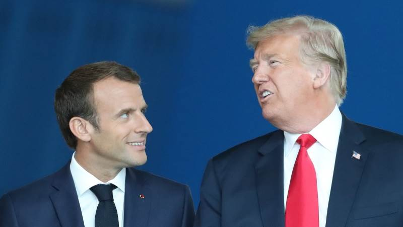 Trump slams Macron over EU army remarks