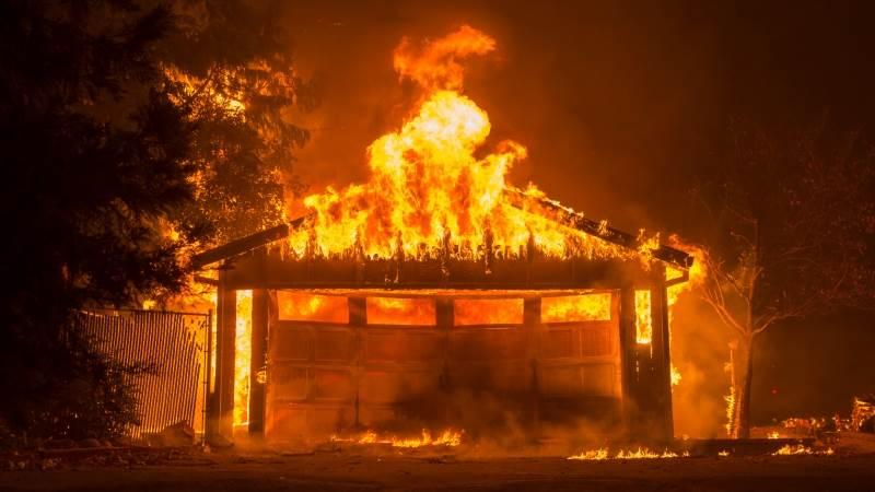 California fires death toll rises to 9