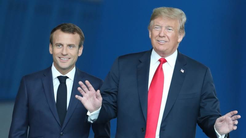 Trump tells Macron: US wants 'strong Europe'