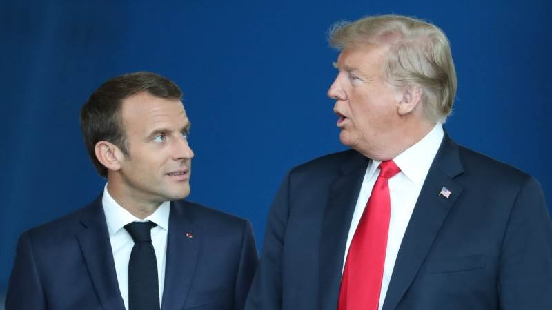 Paris: Trump confused about Macron's army remarks