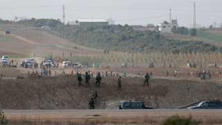 Six Palestinians, Israeli soldier die in Gaza clash