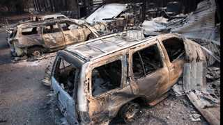 California wildfires death toll rises to 66