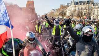 One person dead, dozens wounded in French fuel protests