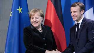 Merkel, Macron hold meeting