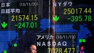 Asian markets lower amid conflicting US statements