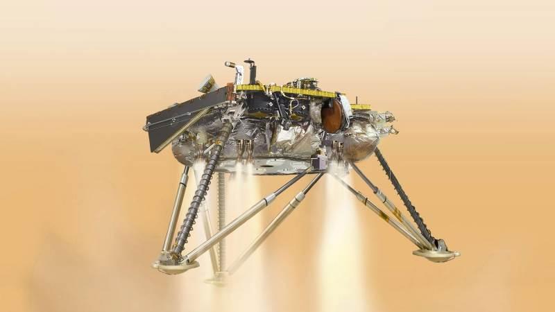 NASA successfully lands spacecraft on Mars