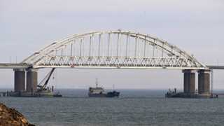 Russia reports explosion on ship in Kerch Strait