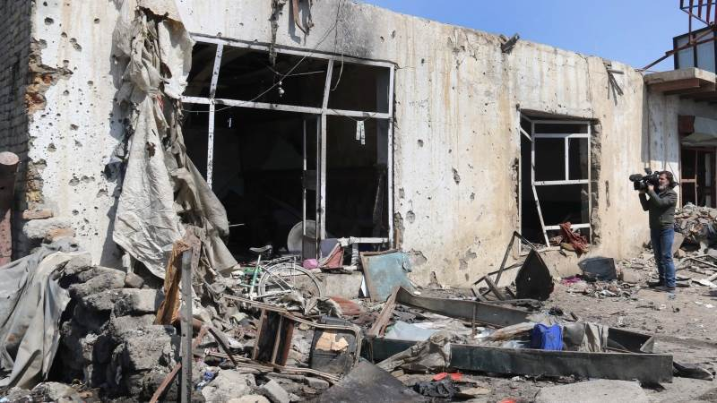Attack on UK security firm in Kabul kills at least 10