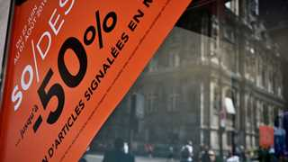 Eurozone inflation slips to 2% in initial estimate