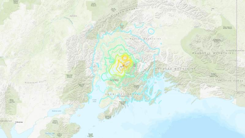 Alaska struck by 7.0 quake, tsunami warning issued