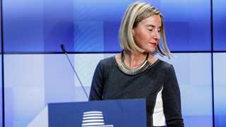 EU's Mogherini urges US, Russia to save INF