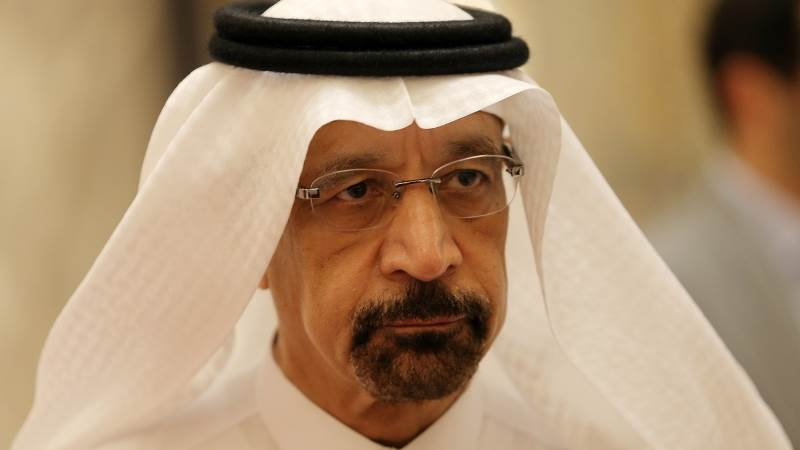 Al-Falih against exempting Iran from oil output cuts