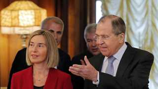Mogherini: Saving INF is key to European security