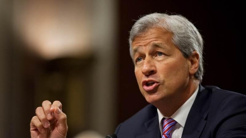 JPMorgan CEO says trade war is reason for market volatility