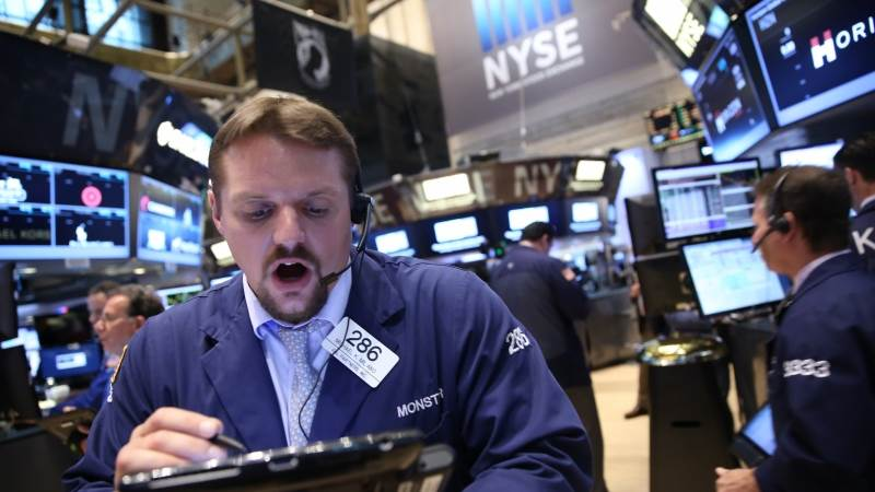 Wall Street closes mixed after Fed report
