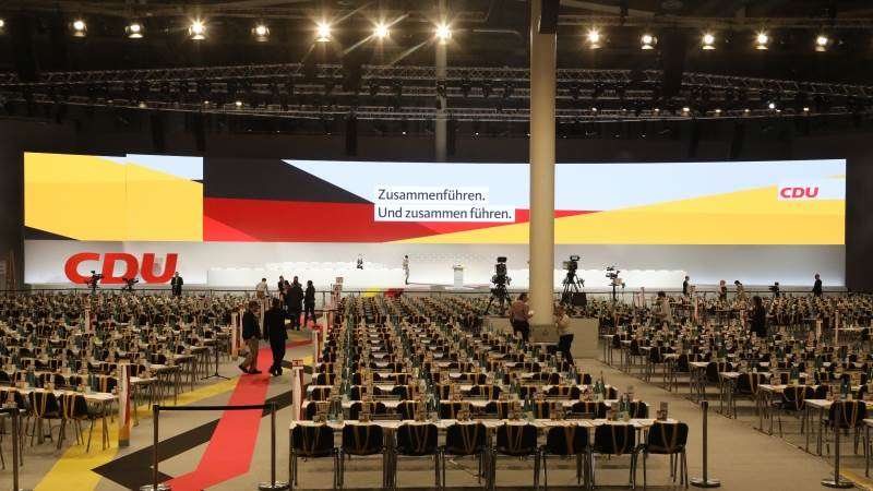 Merkel's party convenes to elect new leader