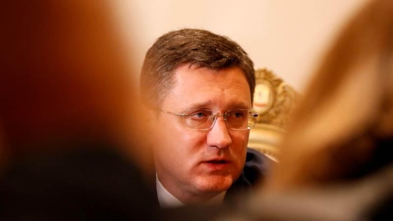 Novak: Russia hopes to reach oil output cut deal