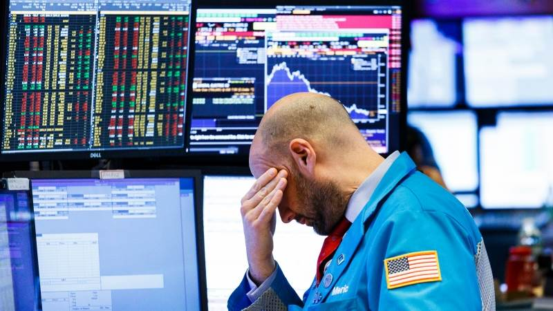Dow set to fall over 170 points on open