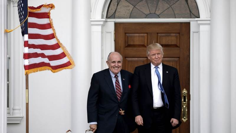 Trump: Giuliani doing a counter to Mueller's report