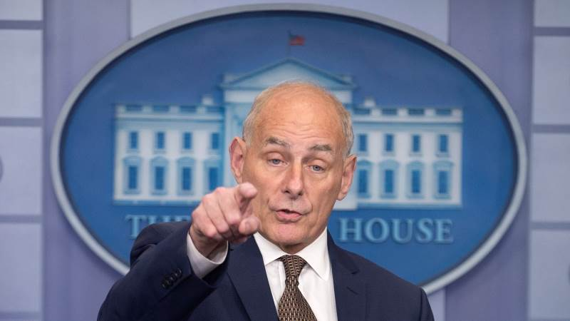 Mueller interviewed Kelly over alleged probe obstruction - report