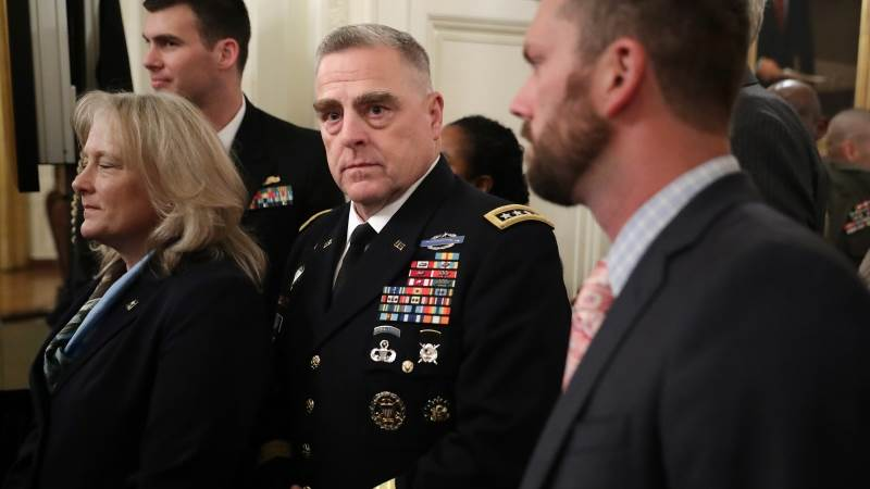 Trump to name Milley as next joint chiefs of staff chair - report