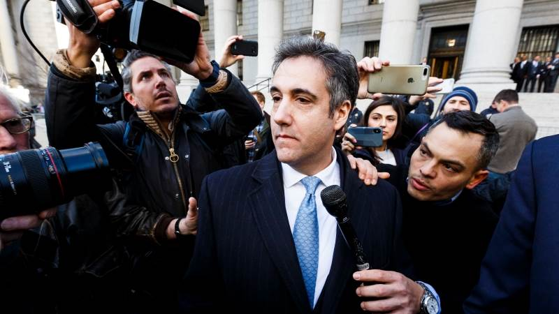 Federal prosecutors call for 'substantial' prison time for Cohen