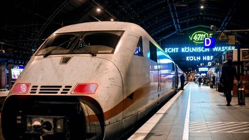 German trains delayed amid rail workers strike