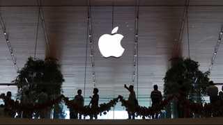 Apple rebounds after sharp decline