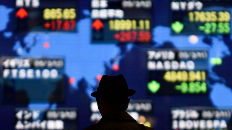Asian markets mixed after turbulent Wall Street session