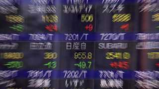 Stocks in Asia-Pacific trade mixed