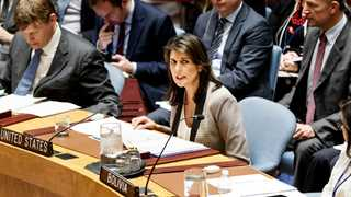 Haley: 'Hard talks needed' with Saudis over Khashoggi