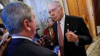China greater 'existential' threat than Russia- Sen. Grassley