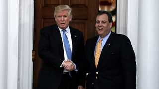 Christie declines to be Trump's chief of staff