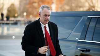 Trump announces Interior Secretary Zinke's departure