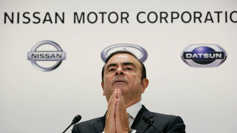 Ghosn paid $8M by Nissan-Mitsubishi entity - report