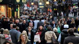 UK inflation at 2.3% in November