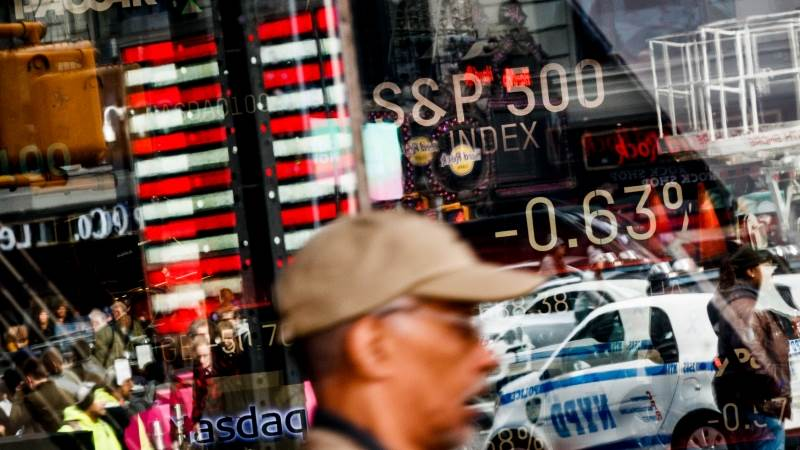 Wall Street drops in premarket on trade concerns