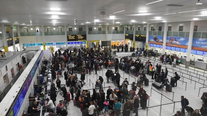 Gatwick flights suspended over new drone sighting