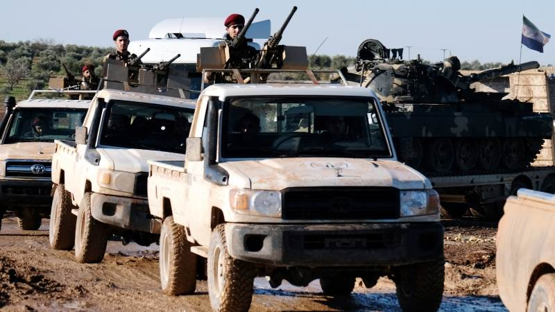 Kurdish fighters pull out from Manbij - Syria's defense ministry