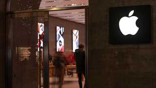 Apple shares rise over 3.5% after Trump's comments